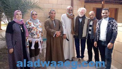 صورة الإتحاد النوعي لتنمية المجتمعات الريفية في زيارة لآثار تل العمارنة