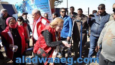 صورة افتتاح وحدة ترشيح طبيعى لمياه الشرب لأهالي مركز قوص