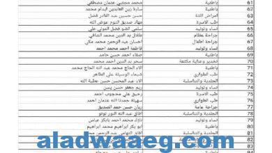 صورة وزارة الصحـة الإتحادية تُعلن عن بدء التوقيع النهائي لتعاقُدات نواب الأختصاصيين