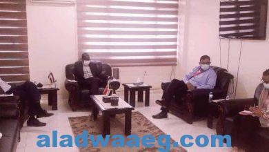 صورة ضحية يلتقي المدير القطري لمنظمة رعاية الطفولة العالمية