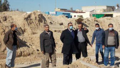 """صورة مسئولو """"جهاز النوبارية الجديدة"""" يتفقدون مشروعي توسعات محطة المعالجة"""