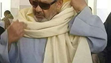 صورة الإمام الذي تنازل عن راتبه وعمل لخدمة دين الله عز وجل