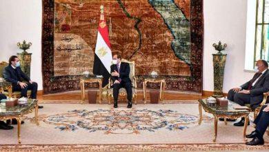 صورة السيسي يؤكد حرص مصر على إخراج لبنان من الحالة التي يعاني منها حالياً