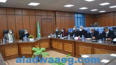 صورة محافظ المنيا يعقد الاجتماع الدوري مع نواب البرلمان لمناقشة عددا من الملفات الهامة