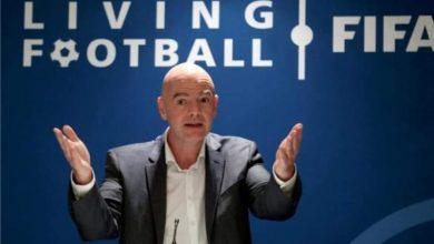 صورة الفيفا يأمل أن يشهد كأس العالم 2022 لإقبال جماهيري