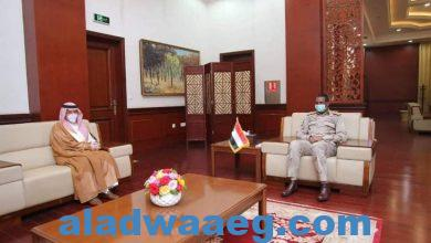 صورة دقلو يلتقى وزير الدولة لشؤون الدول الأفريقية السعودي