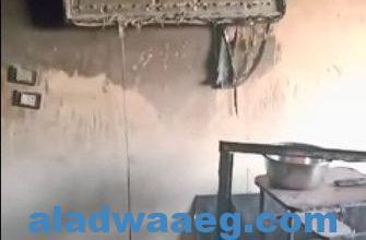 صورة زوجة تشعل النيران في منزل زوجها بمنشاة عبد الرحمن بالدقهلية