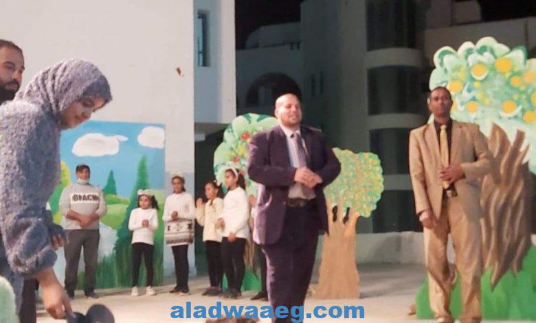 العرض المسرحى الجوهرة السحرية لفرقة قصر ثقافه الغردقة