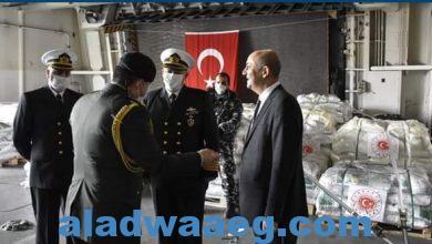 صورة مساعدات غذائية ومعونات من الجيش التركي للجيش اللبناني