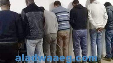 صورة ضبط 8 أشخاص بتهمة التنقيب عن الآثار بالفيوم