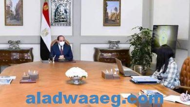 صورة السيد الرئيس يتابع جهود وزارة التعاون الدولي