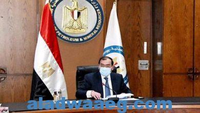 صورة وزير البترول يتابع خطة توصيل الغاز الطبيعي إلى ١,٢ مليون وحدة سكنية وقري حياة كريمة