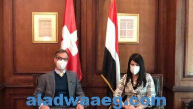 صورة وزيرة التعاون الدولي تلتقي السفير السويسري ورئيسة مكتب التعاون الدولي السويسرية لبحث مجالات التعاون الثنائي