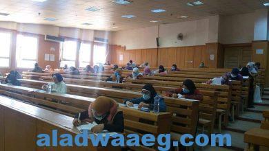 صورة جامعة الفيوم ١٢٠٧٦ طالبًا وطالبة يؤدون امتحانات الفصل الدراسي الأول لليوم الرابع بالجامعة