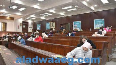 صورة د. الخشت: هدوء في امتحانات جامعة القاهرة منذ بدايتها نتيجة الإجراءات الصارمة التي اتخذتها الجامعة