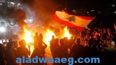 صورة الجيش اللبناني يتدخل لفتح الطرق التي أغلقها المتظاهرون