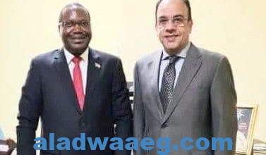 صورة السفير المصري في بوجمبورا يلتقي بوزير الزراعة والبيئة والمياه البوروندي لبحث الارتقاء بالتعاون الزراعي