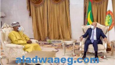 صورة رئيس موريتانيا يبحث مع المبعوث الأممي الأوضاع في دول الساحل