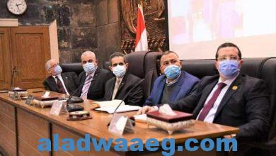 """صورة محافظ الغربية يعقد اجتماعاً موسعاً مع كافة الجهات المشاركة في المبادرة الرئاسية """"حياة كريمة"""""""