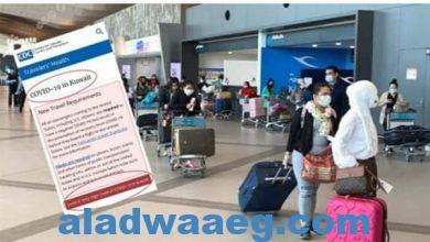 صورة المركز الامريكي للسيطرة على الأمراض وتحذير السفر إلي الكويت لارتفاع الوباء للمرحلة الرابعة