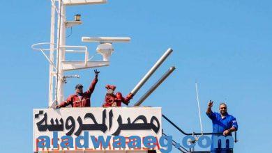 صورة *تصدير 6 آلاف طن أسمنت سيناء من ميناء العريش للمغرب بعد توقف 8 سنوات