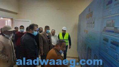 صورة رئيس جهاز مدينة ٦ أكتوبر يتفقد محطة تنقية مياه الشرب التى تخدم المدينة