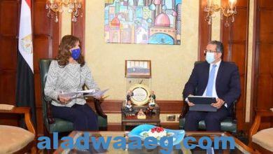صورة وزيرا الهجرة والسياحة والآثار يبحثان آليات التعاون لتنظيم برامج سياحية للمصريين بالخارج