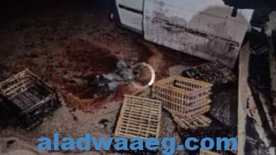 صورة ننشر أسماء المصابين في حادث تصادم سيارة مواد بترولية بطريق أسيوط الغربي