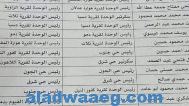 صورة حركة رؤساء الوحدات المحليه والاحياء بمركز ومدينة الفيوم