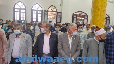"""صورة رئيس """"مدينه مطاى"""" يفتتح مسجد ابوبكر الصديق في الكفور"""