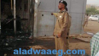 صورة . قوات الدفاع المدنى بولاية الخرطوم