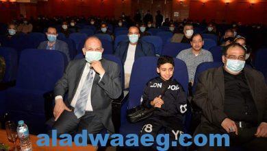 """صورة احتفالًا بيوم الشهيد .. محافظ أسيوط يشهد العرض المسرحي """"محطة مصر"""""""