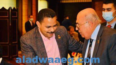 صورة نائب رئيس حزب مستقبل وطن يشارك فى احتفالية حماة الوطن