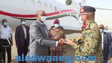 صورة رئيس مجلس السيادة يعود للبلاد بعد زيارة لجمهورية جنوب السودان