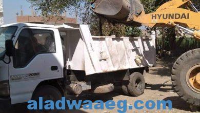 صورة بالصور : اعمال الوحدات المحلية بقري طوخ الخيل والبرجاية وحي وسط المنيا