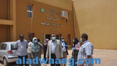 صورة مدير عام وزارة الصحة بالخرطوم يزور مستشفى الراجحي بمحلية امبدة