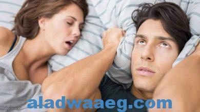 صورة كيف تتخلص من مشكلة الشخير اثناء النوم