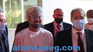 صورة وزير الخارجية السوري في سلطنة عمان لإجراء مباحثات حول الأوضاع