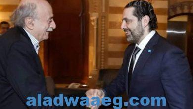صورة الحريري يستقبل جنبلاط لبحث آخر المستجدات السياسية