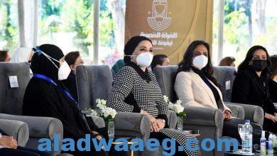 صورة قرينة الرئيس تكرم استشاري لجنة الثقافة والفنون المركزية لسند شباب الصعيد
