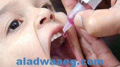 """صورة الطب الوقائى"""" يبرع في حملة شلل الأطفال تزامنا مع إجراءات كورونا الاحترازية"""