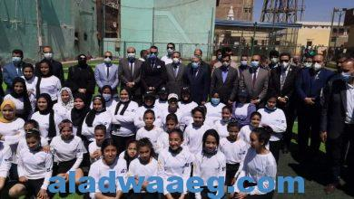 صورة وزير الشباب والرياضة ومحافظ المنيا يتفقدان المشروع القومي للموهوبين والبطل الأوليمبي لتنمية النشء