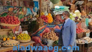 صورة رئيس مدينة المنيا يتابع رفع الإشغالات بحي شمال المدينة ،ويوجه بمواصلة اتباع الإجراءات الاحترازية حفاظ علي سلامة المواطنين