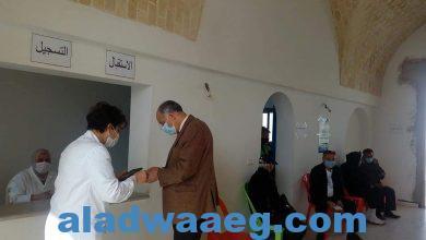 صورة ~ زيارتي للمركز الجهوي للتلقيح ضد فيروس Covid_19 بمسرح محمد المنصف قرط بنابل