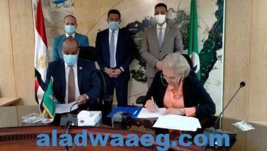 صورة محافظ الفيوم يشهد توقيع بروتوكول تعاون بين مديرية التربية والتعليم والجمعية الروتارية