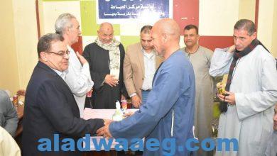 صورة افتتاح الوحدة الحزبية بقرية بمها بحضور عدد من قيادات الأمانة العامة لحزب مستقبل وطن بالعياط