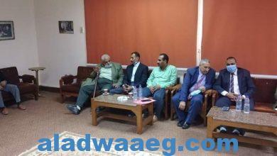 صورة بروتوكول تعاون بين مديرية الزراعة والشركة المصرية للأملاح والمعادن إميسال بالفيوم