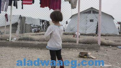 صورة رئيس الجمعية العامة للأمم المتحدة خلال زيارة للحدود السورية: 2.7 مليون شخص شمال سوريا يعيشون ظروفا كارثية