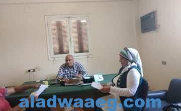 صورة مدير البحوث الإقليمية بالفيوم يهنئ رئيس مركز البحوث والعاملين بشهر رمضان الكريم