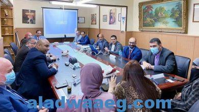 صورة إستدامة وطن في ضيافة مستشار هيئة ال مكتوم في مصر